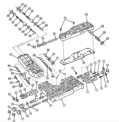 42rh Transmission Diagram by 46re Overdrive Transmission Parts Diagramdiagram 1997
