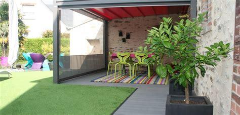 conseils pour une terrasse de jardin moderne  pop