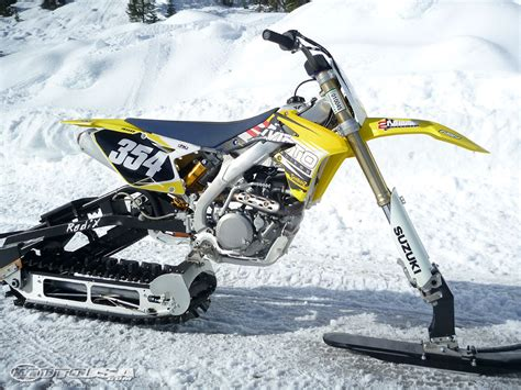 motocross snow bike 2011 snow bike comparison review photos motorcycle usa