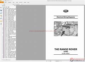 Auto Repair Manuals  Range Rover L405 2015 Vin 197042 On Electrical Wiring Diagram