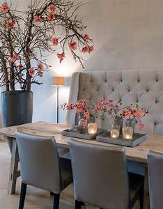 voor meer inspiratie wwwstylingentrendsnl of www With dining room table with sofa seating