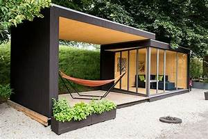 Container Als Gartenhaus : gartenhaus inspiration 23 originelle ideen f r ihre ruhe oase im garten gartenpavillion ~ Sanjose-hotels-ca.com Haus und Dekorationen