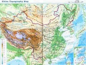 China Topographic Map