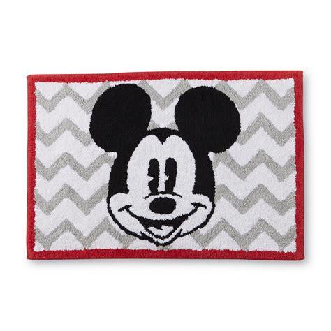 disney mickey mouse bath rug home bed bath bath bath towels rugs bath rugs mats