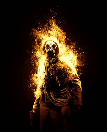 Fire Animated Photoshop Action Graphicassets Hello Behance