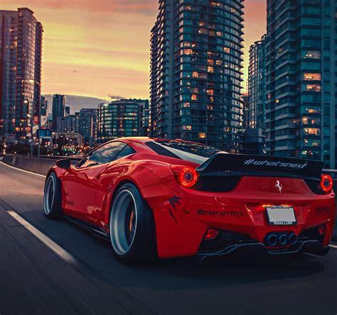 Best Ferrari 458 Liberty Walk Wide  Wide Car Wallpapers
