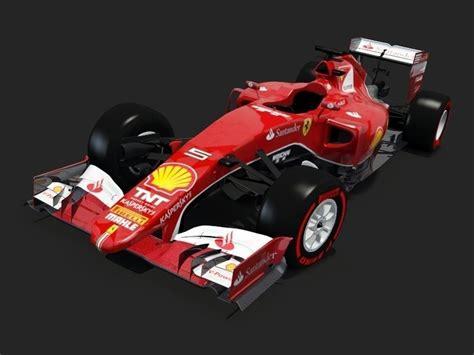 Dreis Design Formula 1 Ferrari modeling 3D (cinema4D) - YouTube
