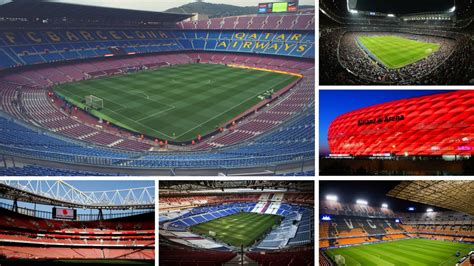 Uefa  The 20 Most Expensive Stadiums In European Club
