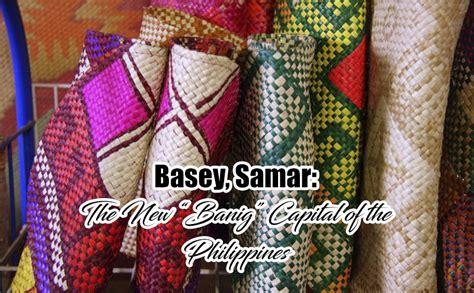basey samar   banig capital   philippines