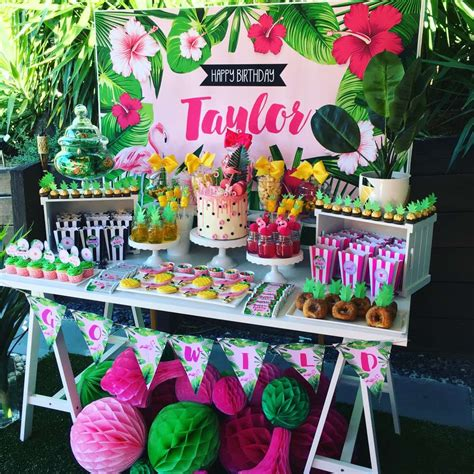 Tropical Birthday Party Ideas  Photo 4 Of 16  Catch My Party