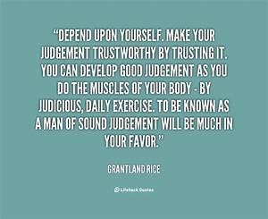 Depending Quotes. QuotesGram