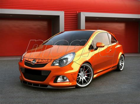 opel corsa d opc opel corsa d opc nurburgring m style front bumper extension