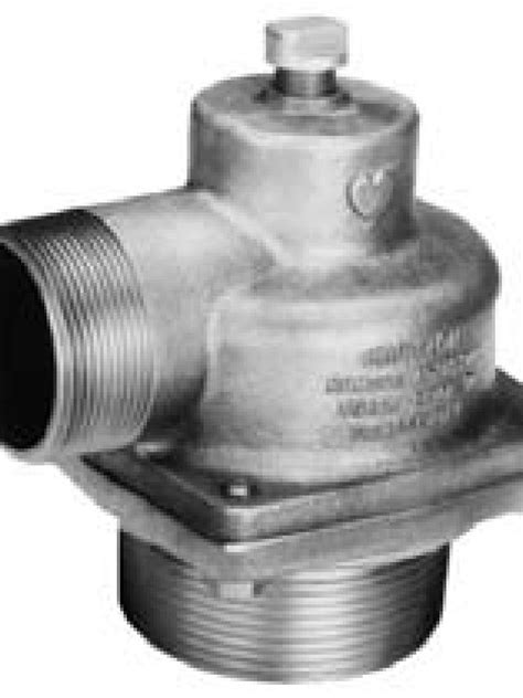 """Elkhart 2.5"""" (NHT) Male Inlet Relief Valve Model 40-32"""