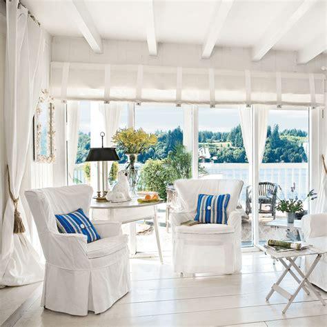 bright white beach living room  beautiful beach