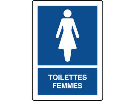 voir femmes aux toilettes panneau d information vertical avec texte toilettes femmes contact virages