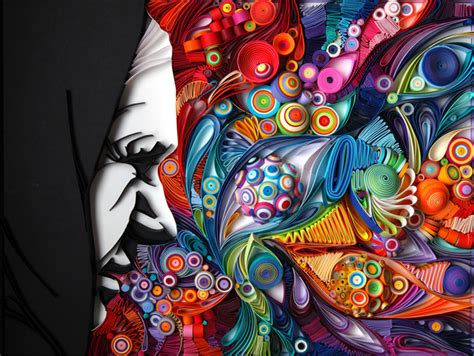 Stunning Quilling Designs By Yulia Brodskaya : Vibrant Quilled Paper Illustrations And Sculptures By