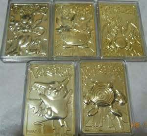 pokemon gold cards
