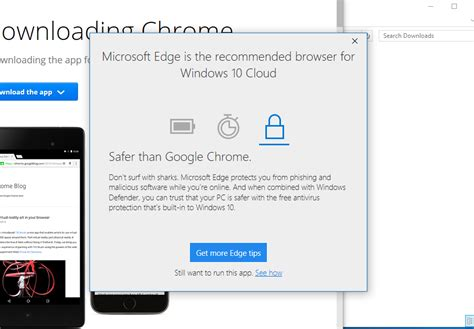 Just a link to the official exe file would be awesome. Windows 10 Cloud will let you install Win32 apps from the ...