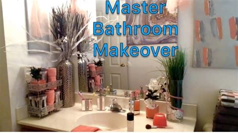 master bathroom makeover tj maxx inspired affordable diy