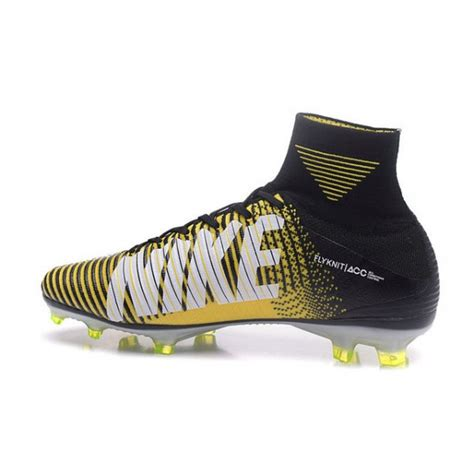 news nike mercurial superfly  fg soccer boots yellow black
