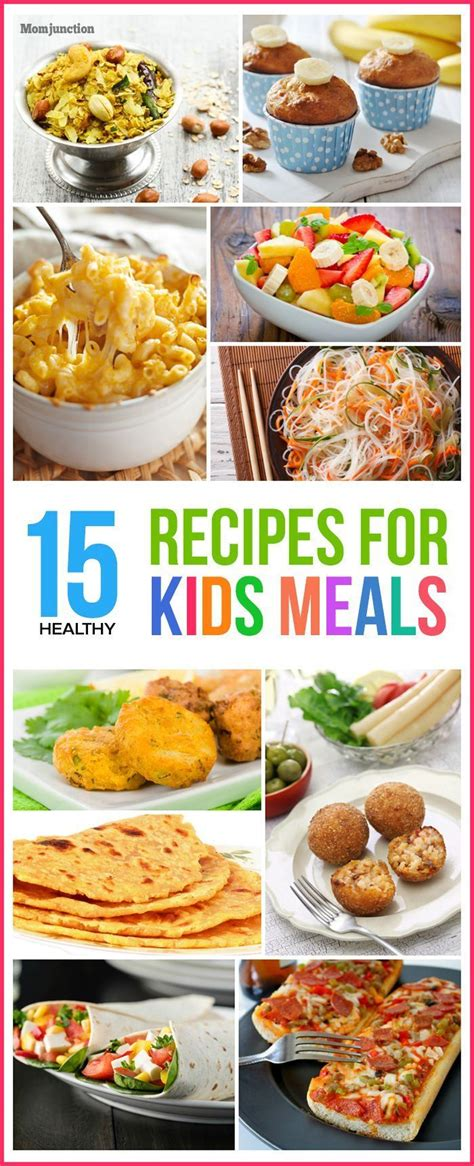 In our house, we have one extremely fussy eater which often makes dinner a struggle. Top 15 Healthy Recipes For Kids' Meals | Kid friendly ...