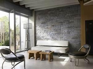 Wandverkleidung Stein Wohnzimmer : wohnzimmer wandgestaltung steinoptik ~ Sanjose-hotels-ca.com Haus und Dekorationen