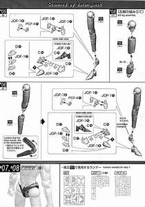 Mg Figurerise Wild Tiger English Manual  U0026 Color Guide