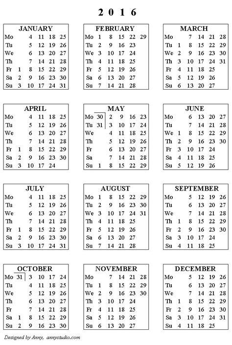 downloadable  calendars