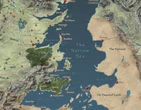 Game of Thrones World Map Interactive