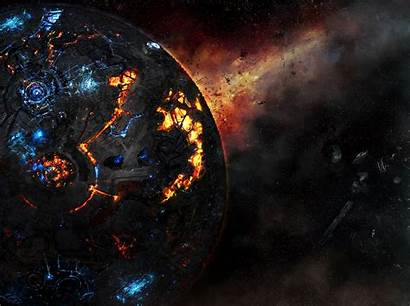 Cybertron Transformers Wallpapers Fall Pc Planet Definition