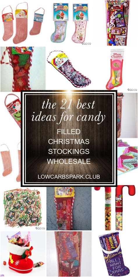 Buy wholesale christmas stockings and get the best deals at the lowest prices on ebay! The 21 Best Ideas for Candy Filled Christmas Stockings wholesale | Easy candy recipes, Christmas ...