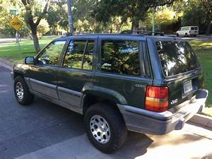 Jeep Grand Cherokee Suv 1993 Forest Green For Sale