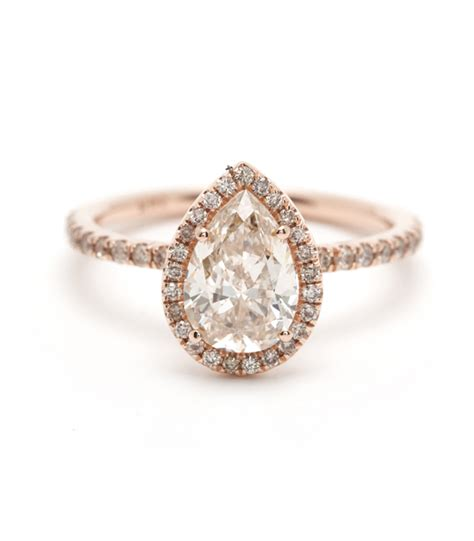 pear shaped engagement ring your general guide