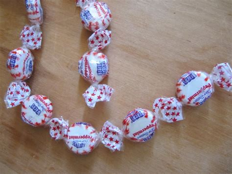 Peppermint Candy Garland  Christmas Diy