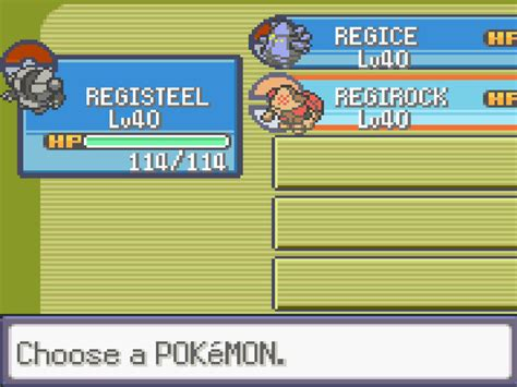 How To Find The Regis In Pokemon Emerald 7 Steps With