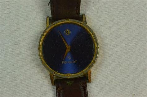 Vintage Peugeot Watches by Vintage Peugeot Blue Quartz Parts Repair