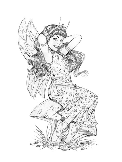 detailed fairy coloring pages Fairy coloring Fairy