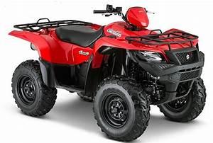 2015 Suzuki King Quad Atv Models Released