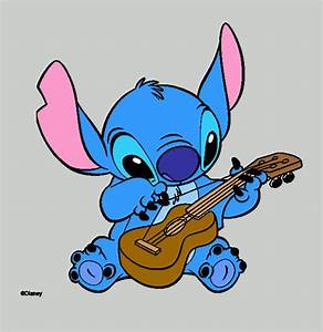 Stitch Playing Coloring Page Printable Stitch Playing
