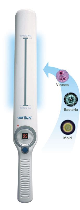 Amazon.com: Verilux CleanWave VH01WW4 UV-C Sanitizing Wand