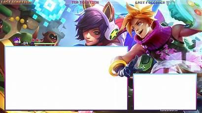 Overlay Twitch Lol Arcade Ahri Ezreal Transparent
