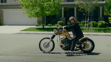 Motorcycle Commercial by Allstate Tv Commercial Motorcycle Insurance