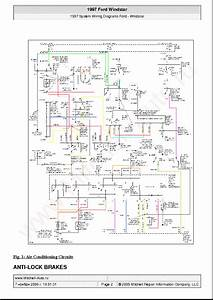 Ford Windstar 1997 Wiring Diagrams Sch Service Manual