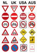Road signs for cycling...