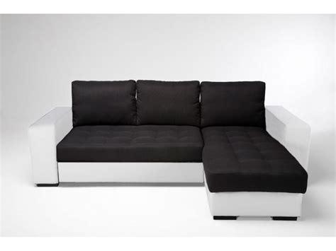 canapé convertible noir et blanc photos canapé noir et blanc convertible