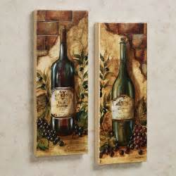 amazing old wine bottle pictures as vintage kitchen wall decor hang on neutral wall painted