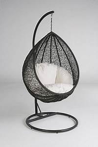 Fauteuil Suspendu Osier : un fauteuil suspendu fauteuil oeuf balancelle balancelle oeuf en osier ~ Teatrodelosmanantiales.com Idées de Décoration