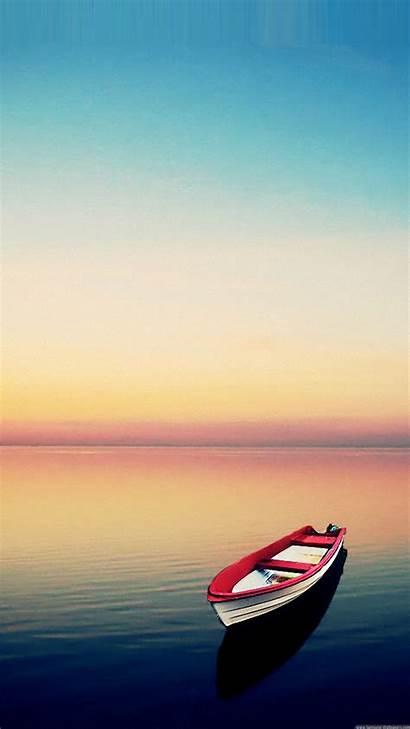 Wallpapers Samsung Galaxy Smartphone Portrait S4 Boat