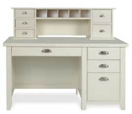 white desk with small hutch and drawers i like the drawer pulls living room home office
