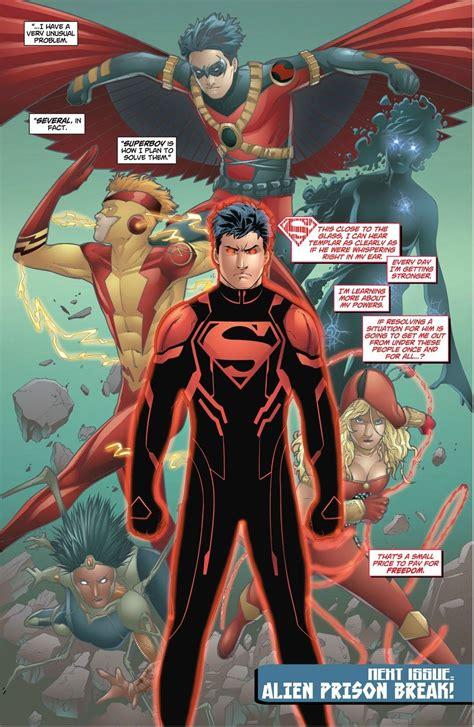 Dc Histories Conner Kent Superboy Ii Kon El